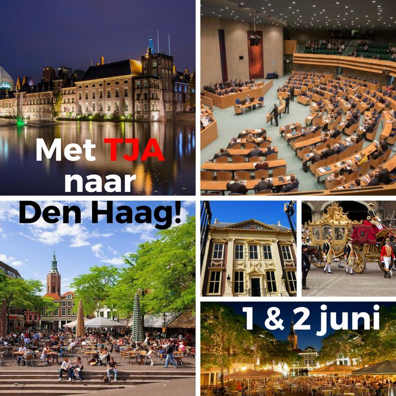 Met TJA naar Den Haag!